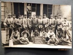 PHOTOoriginale  1924- Groupe De Militaires -Situé à MAYENCE Occupation De L'Allemagne Après La Guerre 14-18 - Militaria