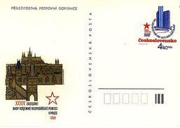 Czechoslovakia 1980 Council For Mutual Economic Aid Conference - Ansichtskarten