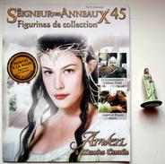 Figurine Le Seigneur Des Anneaux N°45 / Arwen à Minas Tirith - Lord Of The Rings