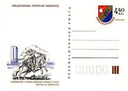 Czechoslovakia 1982 Postal History Exhibition In Neratovice - Ansichtskarten