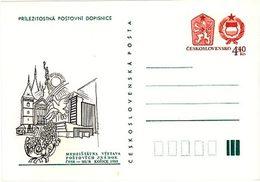 Czechoslovakia 1983 Stamp Exhibition Hungary-CSSR - Ansichtskarten