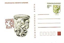 Czechoslovakia 1984 Intl. Stamp Exhibition In Wroclaw, Poland - Ansichtskarten