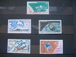 Lot De Timbres  PA   De  St-Pierre Et Miquelon       Neuf * - Poste Aérienne