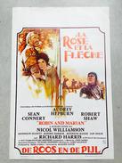 """Robin Des Bois """"la Rose Et La Flèche """"AUDREY HEPBURN ,SEAN CONNERY (aventure) Robin And Marian ,belle Marianne - Affiches & Posters"""