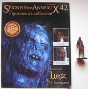Figurine Le Seigneur Des Anneaux N°42 / Lurtz à Isengard - Lord Of The Rings