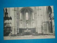 89) 01 - Aillant Sur Tholon  - L'intérieur De L'église   - EDIT - Roncelin - Aillant Sur Tholon