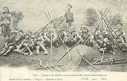 A-17-1177 :   LAOS  TYPES DE KHAS LAOS MERIDIONAL - Laos