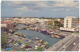 DCI Careenage Bridgetown Barbados - DA'AGS Cards - Unused - Postcards
