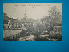 89) 01 - Aillant Sur Tholon  - Les Bords Du Tholon Et L'abreuvoir  - EDIT - Roncelin - Aillant Sur Tholon