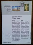 FDC Sur Document - YT Service N°118, 119 - UNESCO - 1998 - 1990-1999