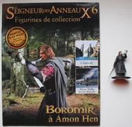 Figurine Le Seigneur Des Anneaux N°6 / Boromir à Amon Hen - Le Seigneur Des Anneaux