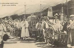 A-17-1185 :   COREE  UN RICHE CORTEGE NUPTIAL COREEN. A RICH COREAN WEDDING - Corée Du Sud