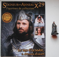 Figurine Le Seigneur Des Anneaux N°29 / Le Roi Elessar à Minas Tirith - Lord Of The Rings