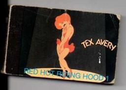 """TEX AVERY / RED HOT RIDING HOOD 1 Petit Livre Qui Remue En Dessin Animé """"Démons Et Merveilles"""" - Otros"""