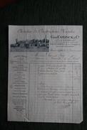 Facture Ancienne - MAISONS LAFFITTE , Chantiers Et Constructions Navales - G.DE CONINCK Et Cie - France