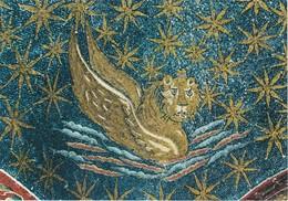 Cartolina Ravenna -  Il Simbolo Dell'enangelista S.marco - Ravenna