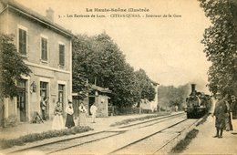 CITERS QUERS(GARE) TRAIN - Autres Communes