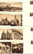 Czechoslovakia 1947 Cities, Spas, Countrysides, CDV87/1-16 - Ansichtskarten