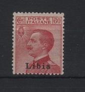 1917-18 Libia 60 C. Carminio Michetti MLH Ottima Centratura - Libya