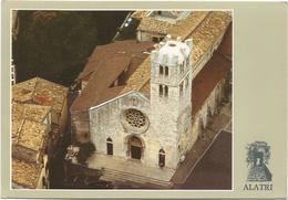 T2025 Alatri (Frosinone) - Chiesa Collegiata Di Santa Maria Maggiore - Panorama Aereo Vista Aerea / Non Viaggiata - Altre Città