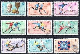 HONGRIE   N° 1832/40    Oblitere    Cup 1966  Football Soccer Fussball Rimet - 1966 – England
