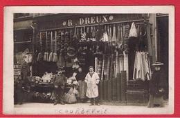 Courbevoie  --  Carte Photo -- Magasin R . Dreux - Courbevoie
