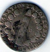 12 DENIERS FRANCOIS 1793 A Metal De Cloche - 1789-1795 Period: Revolution