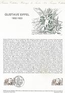 DOCUMENT 1982 GUSTAVE EIFFEL - Documentos Del Correo