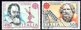 XP1697 - REPUBBLICA 1983, Serie Usata .EUROPA CEPT - 6. 1946-.. Repubblica