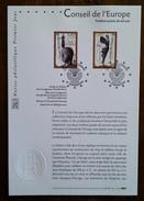 FDC Sur Document - YT Service N°120, 121 - CONSEIL DE L'EUROPE - 1999 - 1990-1999
