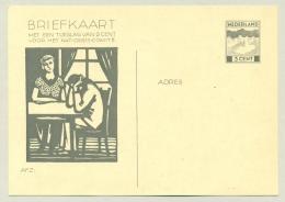 Nederland - 1933 - 3+2 Cent Briefkaart Nationaal Crisis Comité, G233 Ongebruikt - Postwaardestukken