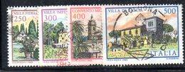 XP1702 - REPUBBLICA 1983, Serie Usata . VILLE - 6. 1946-.. Republik