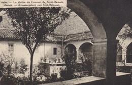Assise, Le Cloitre Du Convent De Saint Damien (31954) - Andere Steden