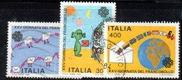 XP1709 - REPUBBLICA 1983, Serie Usata . GIORNATA FRANCOBOLLO - 6. 1946-.. Republik