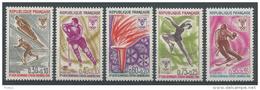 France, 1968 Winter Olympics, Grenoble, France 1968, MNH VF - France