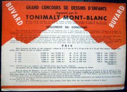 BUVARD  ANCIEN  74 RUMILLY   LAIT TONIMALT MONT BLANC - Dairy