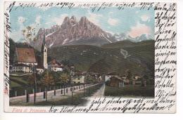38 054 FIERA DI PRIMIERO  ~ 1900   LITHO - Trento