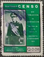 GUATEMALA 1973 National Census. USADO - USED. - Guatemala