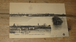 COGNAC : Crue De La Charente Decembre 1907 .................... HY456 - Cognac