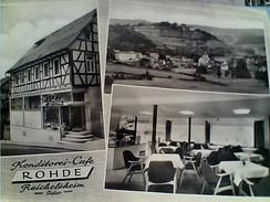 GERMANY Stallupönen, Konditorei Rohde, Cafe Nach Der Zerstörung  VUES 1960 V1970 FX10738 - Ostpreussen