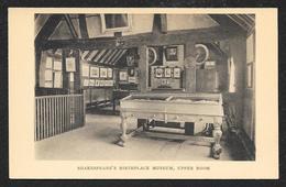 Shakespeares Birthplace Museum Upper Room ENGLAND Unused C1920s STK#94057