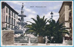 SPLIT - MONUMENTALNA ČESMA (  Bajamontijeva Fontana )  * Croatia * Travelled 1927.* Monumental Fountain Fontaine B - Croatia