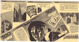 PUZZLE / 500 FRANCS BLAISE PASCAL 1623 - 1662 /SERIE DE 6 CARTES POSTALES / THIMONIER / 4 SCANNS - Coins (pictures)