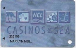 NCL Casinos At Sea : Norwegian Cruise Lines Miami Florida - Casino Cards