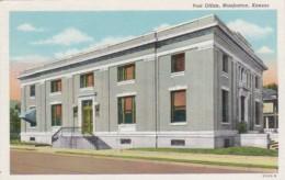 Kansas Manhattan Post Office Curteich - Manhattan