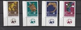 Liechtenstein  **    644-647 Naturschutz Eckrand - Neufs