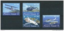 "Pitcairn - Mi.Nr. 785 / 788 - ""Luftfahrzeuge"" ** / MNH (aus Dem Jahr 2009) - Pitcairn"