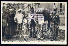 Cpa Du 81 Valence D' Albi St Etienne -- Souvenir Du 21 Juin 1937 -- Déguisement -- Valence D' Albigeois  NCL61 - Valence D'Albigeois