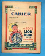 Cahier D'écolier - LION NOIR - Lion Blanc - Miror - 1928 - Kids