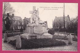 TRELLY  50  ( LE MONUMENT AUX MORTS   ) - Saint Pierre Eglise